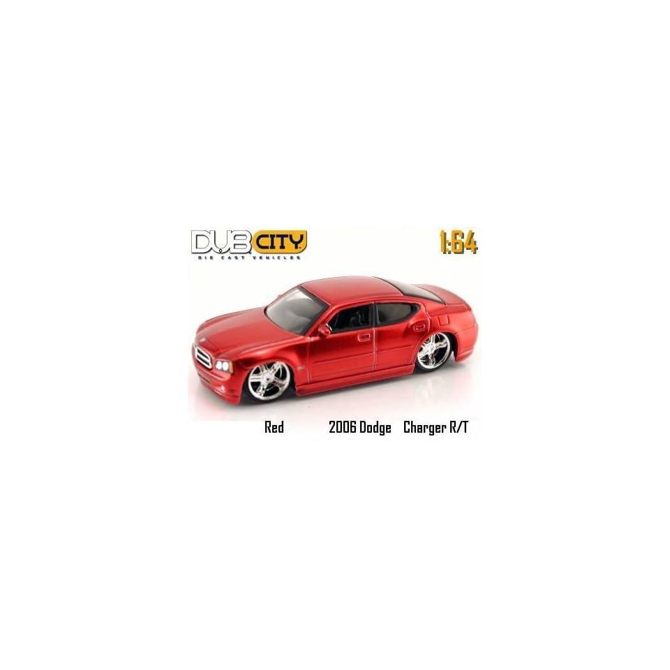 Dub City Kustoms 164 Scale Red Dodge Magnum R/T Die Cast Car Jada