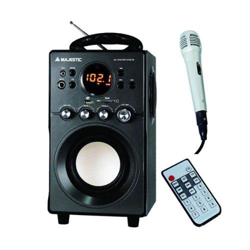 50 opinioni per Majestic AH239K BK Sistema audio 2.1, Altoparlanti con subwoofer, Ingresso AUX,