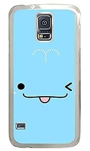 meilz aiaiCute Whale PC Transparent Hard Case Cover Skin For Samsung Galaxy S5 I9600meilz aiai