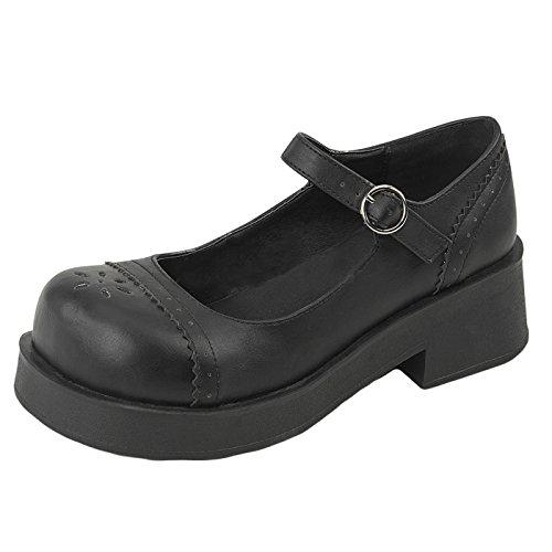 Demonia - Defining Alternative Footware Plateau Schuhe Crux-07