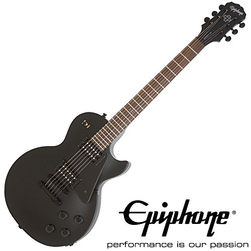 EPIPHONE Gothic Les Paul Studio (BLACK SATIN)