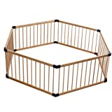 Hulan Baby Play Fence Children Activity Center Diamond Safe Playground Family Indoor Outdoor (Size : Diagonal 180cm)