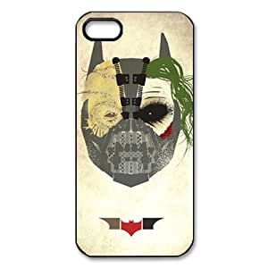 Custom Zombies And Skull Hard Back Cover Case for iPhone 5/5s OB-1515