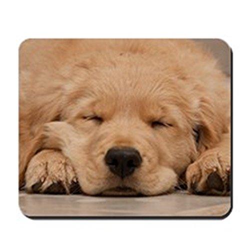 CafePress - Golden Retriever Puppy Mousepad - Non-slip Rubber Mousepad, Gaming Mouse Pad