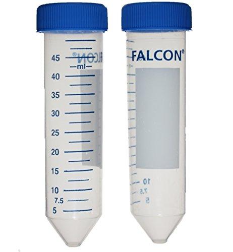 50 ML FALCON CENTRIFUGE TUBES, POLYPROPYLENE, STERILE, PACK OF 25 - Corning Centrifuge Tubes