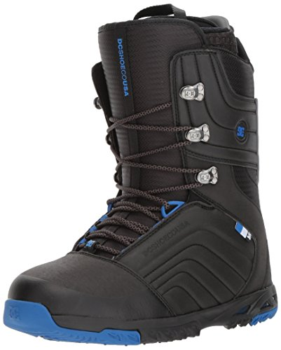 DC Men's Scendent Lace Up Snowboard Boots, Black/Blue, -