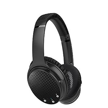 Activo cancelación de ruido auriculares Bluetooth, Inalámbrico de alta fidelidad Deep Bass Auriculares de auriculares