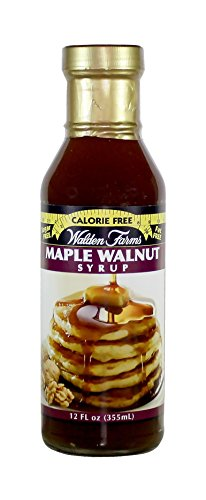 Walden farms Calorie Free Maple Walnut Syrup 12 oz Maple Walnut