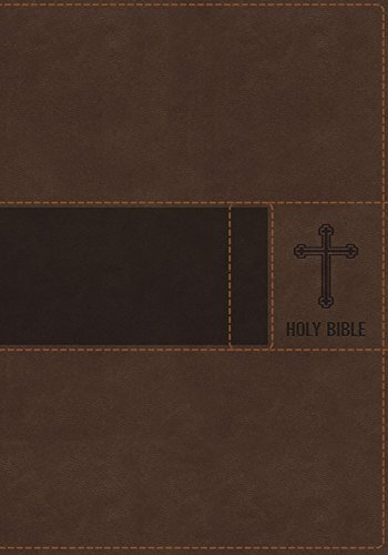 Gift Niv (NIV, Gift Bible, Leathersoft, Brown, Indexed, Red Letter Edition)