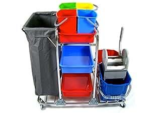 Nova Deluxia - Carrito de limpieza profesional