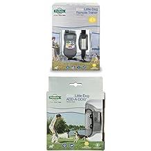 PetSafe PDT00-13623 Little Dog Static Remote Trainer + PetSafe PAC00-13631 Extra Collar for PDT00-13623 Little Dog Trainer Bundle