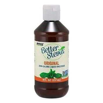 Now Foods BetterStevia Original Liquid Extract – 8 fl. oz. 6 Pack