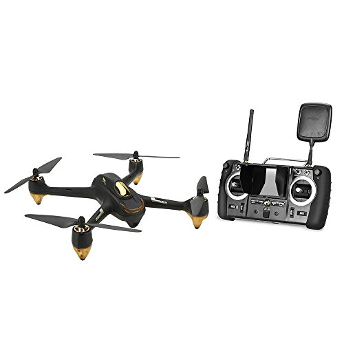 Hubsan H501S X4 Quadcopter Drone RC FPV RTF 5.8G versión profesional Sin Escobillas con Cámara de 1080P HD GPS Negro