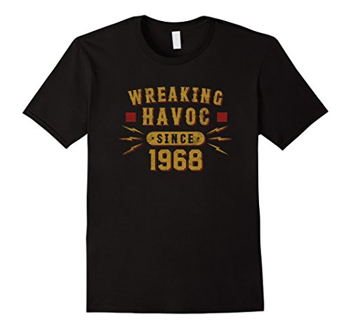 Funny 50th Birthday Gifts - Wreaking Havoc Since 1968 (Havoc Gifts)