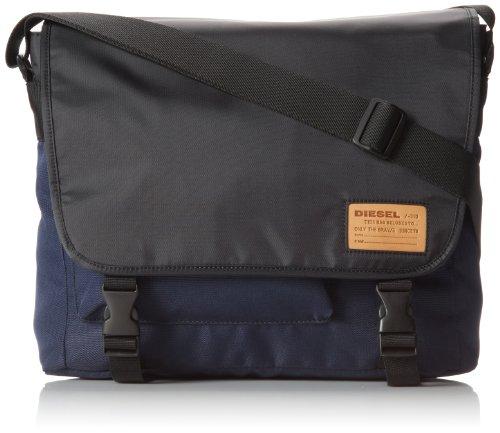 Diesel Hard Users City Messenger Messenger Bag Black/Blue Nights One Size
