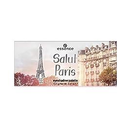 essence | Salut Paris Eyeshadow Palette | 9 Blendable Shades | Matte & Shimmer Finishes