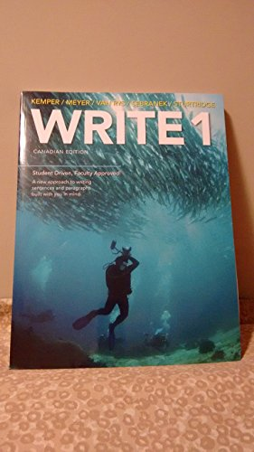 WRITE 1 CANADAIAN EDITION