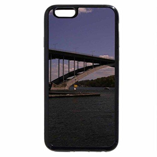 iPhone 6S / iPhone 6 Case (Black) A Bridge in Stockholm