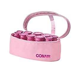 Conair Instant Heat Compact Hot Rollers; Pink - 41cbLJWvu7L - Conair Instant Heat Compact Hot Rollers; Pink