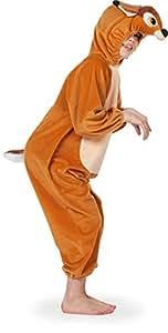 Stekarneval - Disfraz de ciervo infantil unisex de 4 a 5 años (Wilbers Karnaval 99318104)