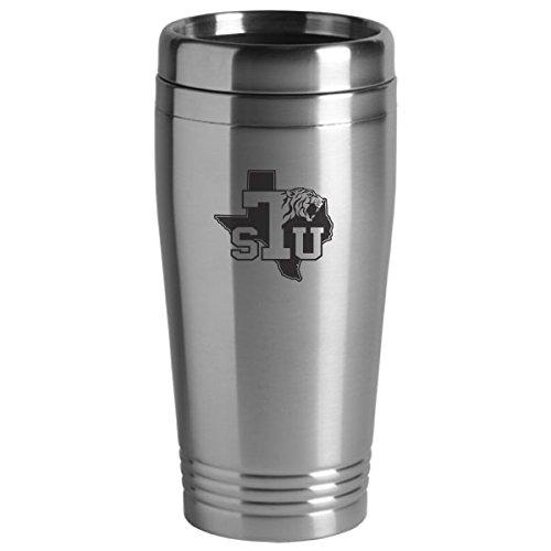 Texas Southern University - 16-ounce Travel Mug Tumbler - Silver