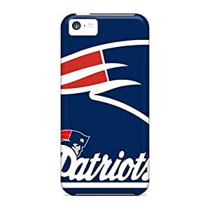 Iphone 5c Case Slim [ultra Fit] New England Patriots Protective Case Cover