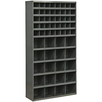 Durham 735-95 Cold Rolled Steel Opening Parts Tall Bin Cabinet ...