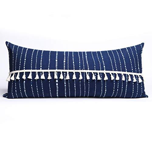 (Flber Decorative Pillows Throw Pillow Tassel Sham Couch Pillowcase Cushion Covers,12