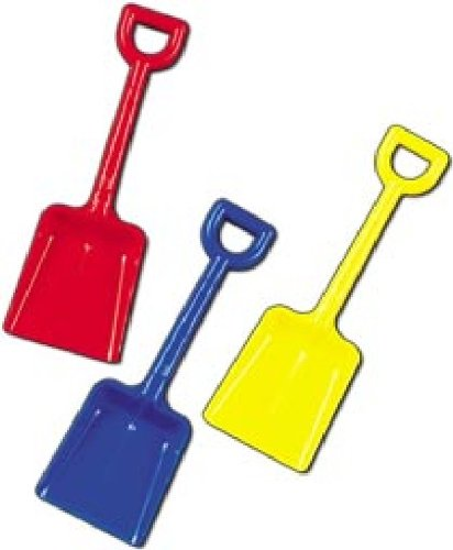 11in Plastic Spade - Colour may Vary No B001CZ5OD0