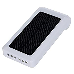 RivenAn Portable Solar Power Panel Bank Charger Oxygen Oxygenator Aerator Air Pump Oxygen for Pool Pond Aquarium Fish Tank