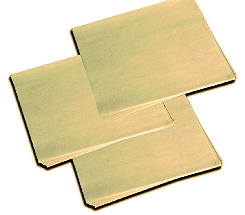 12 X 12 Natural Kraft Dry Wax Basket Liner (2000 per case) McN # 205304