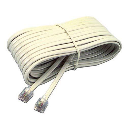 Softalk 04020 Telephone Extension Cord Plug/Plug 25 ft. Ivory
