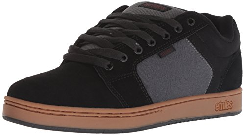 Etnies Barge XL, Scarpe da Skateboard Uomo Nero (Black/Dark Grey/Gum 566)