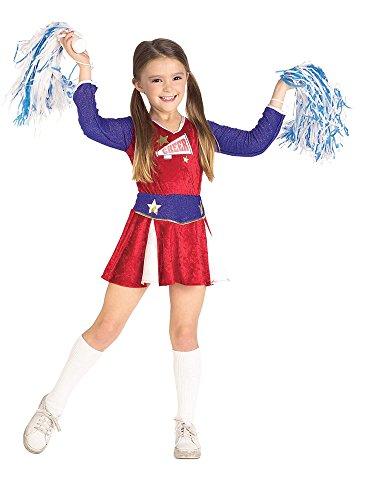 Retro Cheerleader Costume: Girl's Size 12-14 (Cheerleader Costume Girls)