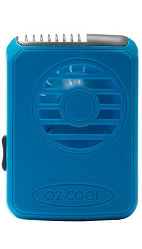O2 Cool Necklace Personal Cooling Fan, Dark Blue (O2 Cool Personal Fan)