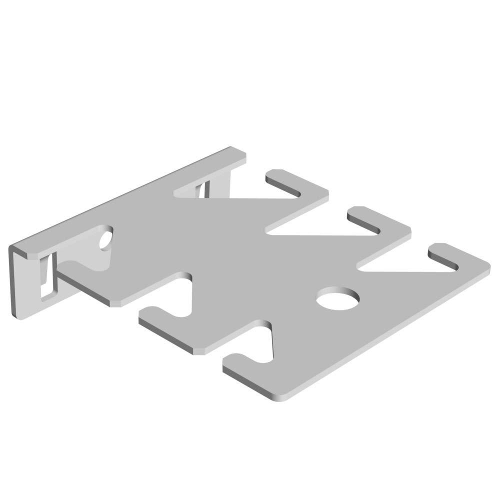 Werkzeughalter 6-fach L63 T75 mm weiss