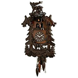 Kassel HHCCRD Kassel Cuckoo Clock with Case