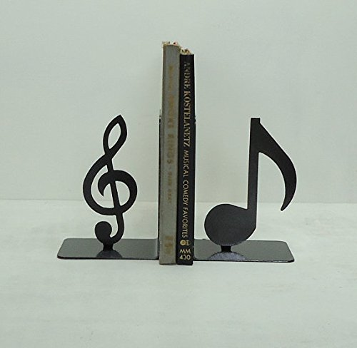 Frog Studio Home Music Note Bookends