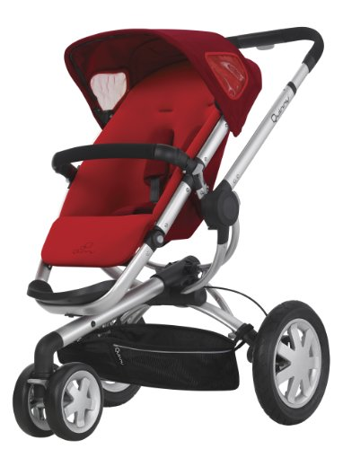 Quinny Buzz Stroller – Rebel Red – One Size