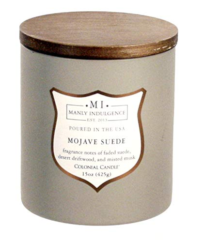 Mojave Glass - Manly Indulgence Mojave Suede 15 oz Scented Candle