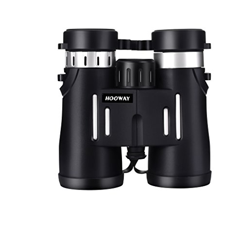 HOOWAY Ultra HD 10×42 Waterproof/Fogproof Roof Prism Binoculars for Bird Watching,Travelling,Hiking For Sale