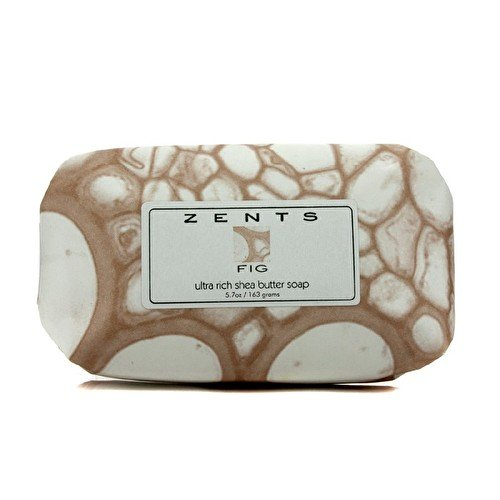 - Zents Luxe Soap, Fig, With Organic Shea Butter and Neem Oil, 5.7 oz / 163 g