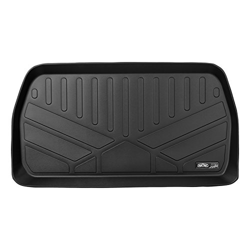 MAX LINER E0232 All Weather Custom Fit Cargo Trunk Liner Floor Mat Behind 3rd Row Black for 2017-2019 Chrysler Pacifica -