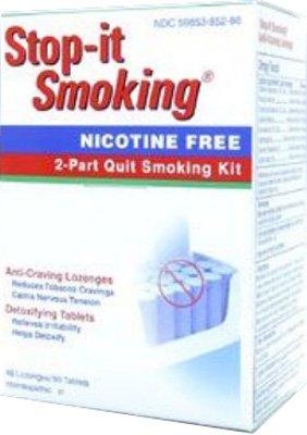 Natrabio Stop-il fumer Partie 2 Quit Smoking Kit, 108-Comte