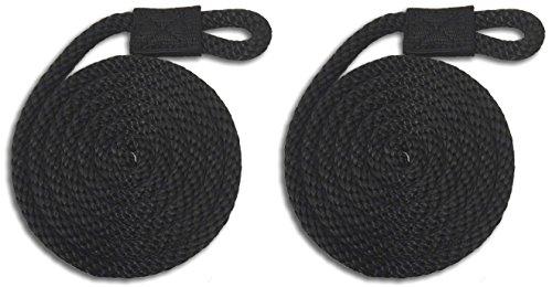 8' Fenders (Black Nylon Fender Line - 3/8