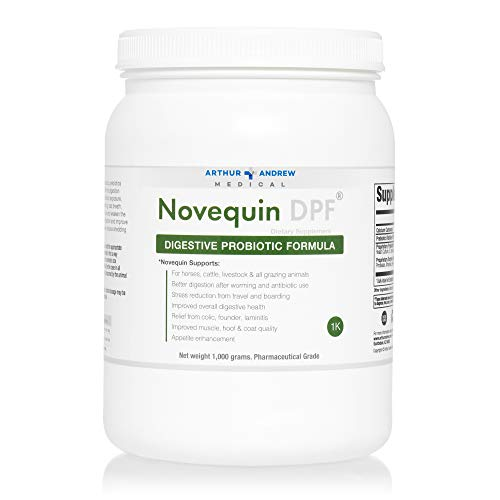 Arthur Andrew Medical - Novequin DPF, Digestive Probiotic Formula for Large Animals, Prebiotics, Probiotics, and Enzymes, Non-GMO, 1000 Grams by Arthur Andrew Medical (Image #4)