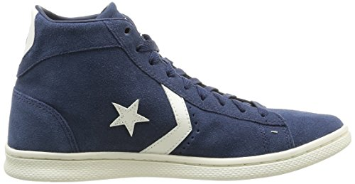 Converse Pro Leather Lp Mid Suede - Zapatillas, color dress blue/off white, talla 38