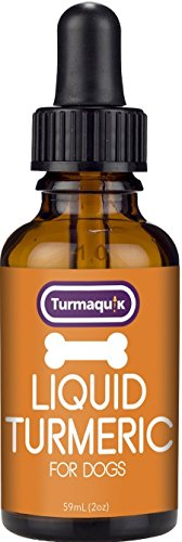 Liquid Turmeric for Dogs - 65x More bioavailable for Hip and Joint Pain, Inflammation, Healthy Skin and Natural Support ()