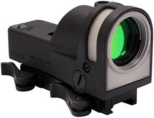 Meprolight Self-Powered Day/Night Reflex Sight with Dust Cover, Triangle/Reticle