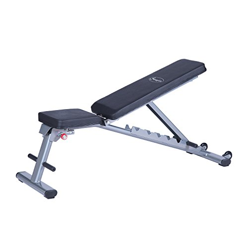 Soozier seven position adjustable foldable weight bench barbell academy Academy weight bench